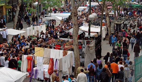 Madrid_markten-El-Rastro