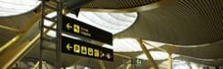 Van en naar het vliegveld in Madrid