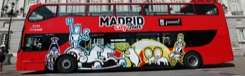 Hop-on Hop-off bus Madrid