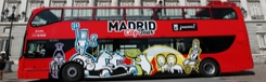 Hop-on en Hop-off bus Madrid